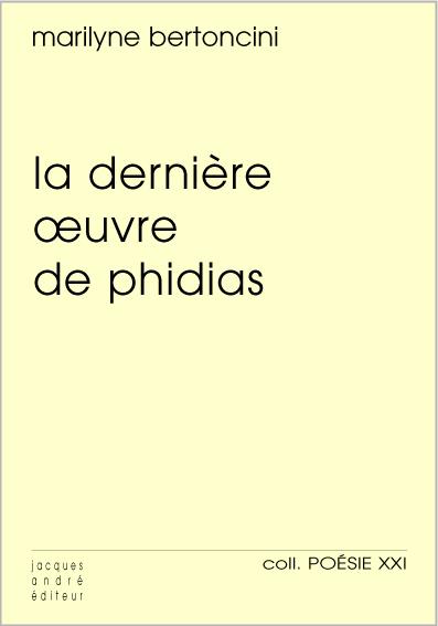 La dernière oeuvre de Phidias